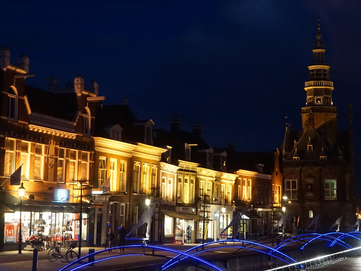Bolsward-by-night